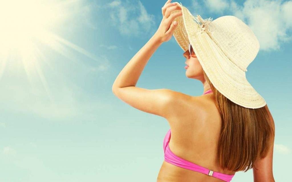 chapeu sol verão