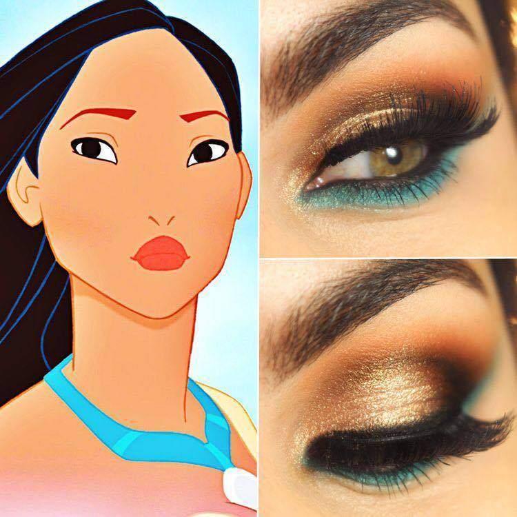 make-princesas-disney-pequena-sereia-pocahontas-branca-neve-rapunzel-jasmine-bela-elsa- (1)