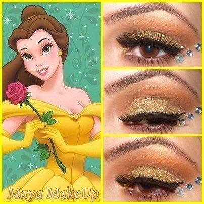 make-princesas-disney-pequena-sereia-pocahontas-branca-neve-rapunzel-jasmine-bela-elsa- (7)