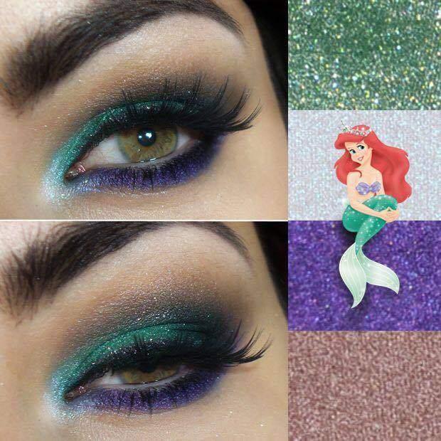 make-princesas-disney-pequena-sereia-pocahontas-branca-neve-rapunzel-jasmine-bela-elsa- (9)
