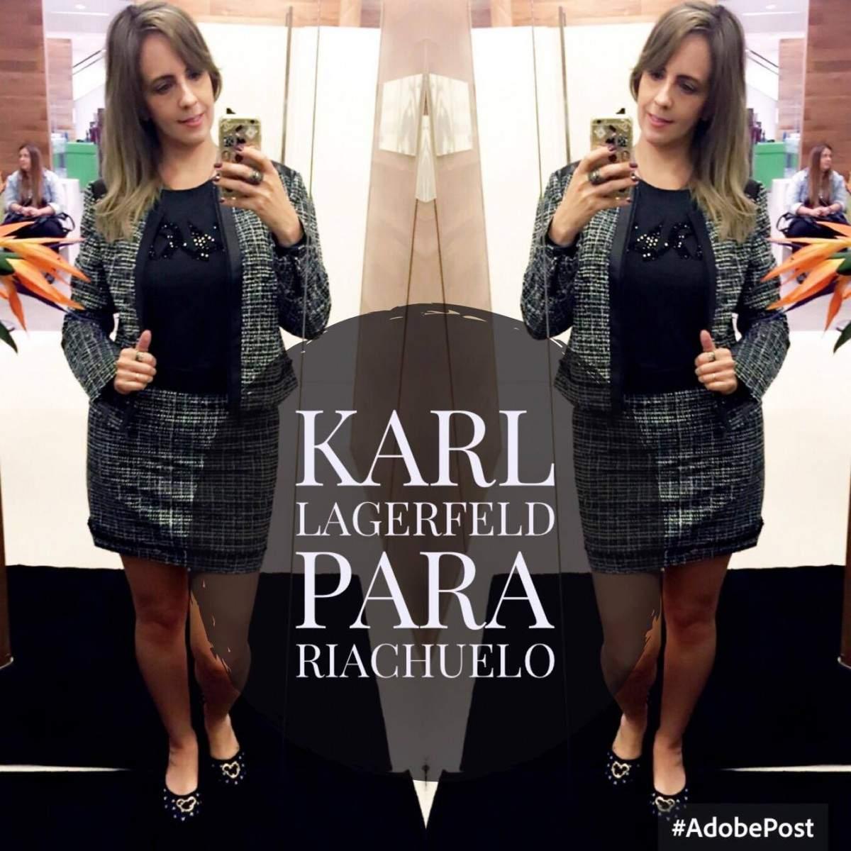 8c50a2738 Karl Lagerfeld para Riachuelo