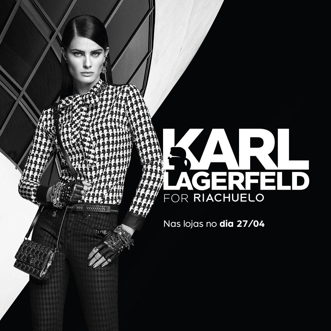 58332f120 Contagem regressiva  Coleção Karl Lagerfeld for Riachuelo será ...