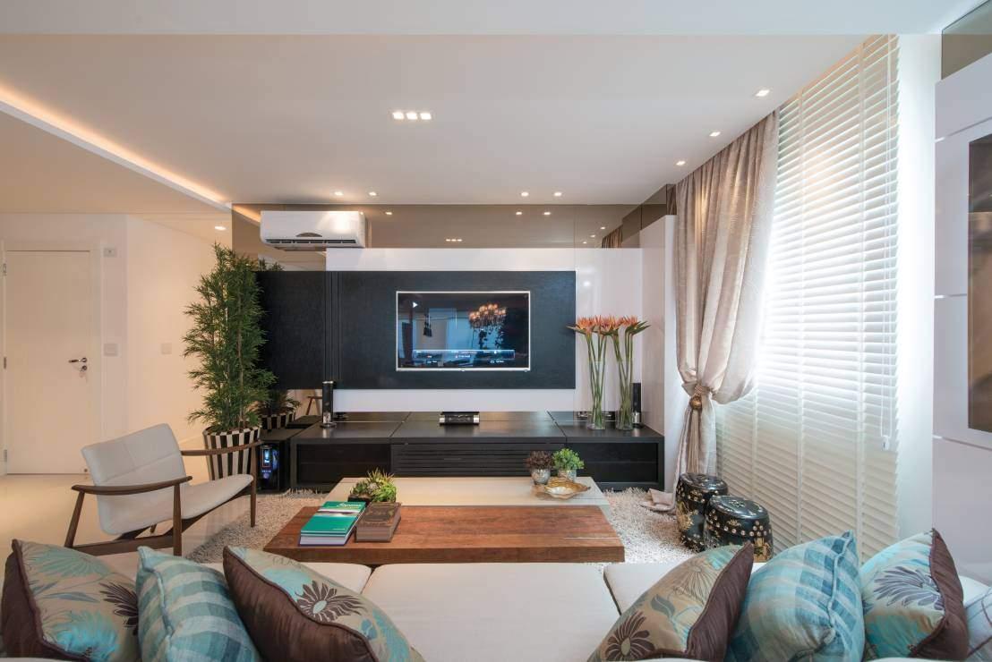 Decor Cinco Dicas Para Sua Sala De Tv Ficar Linda E Aconchegante  -> Fotos De Salas De Tv