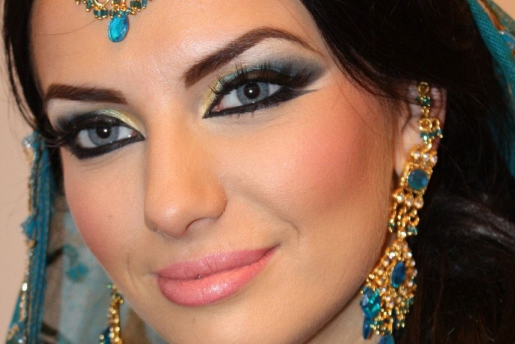 maquiagem arabe