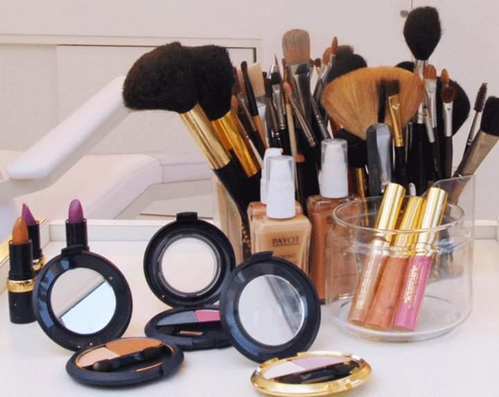 lista material maquiagem