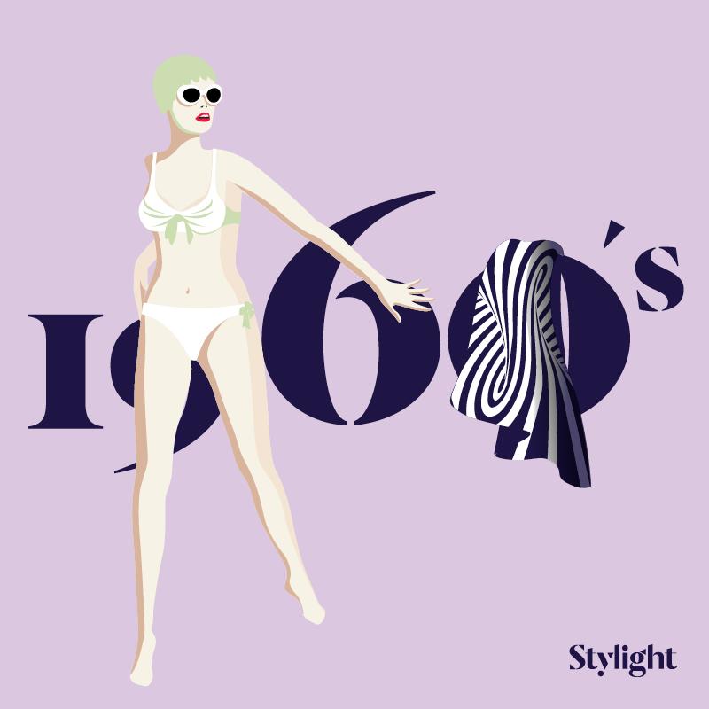 Stylight-A-evolução-do-biquini-década-de-60