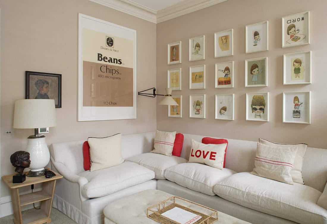 Decor como criar uma composi o de quadros no estilo for Sala de estar no minecraft