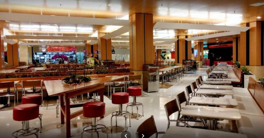 praça alimentação shoppping ibirapuera