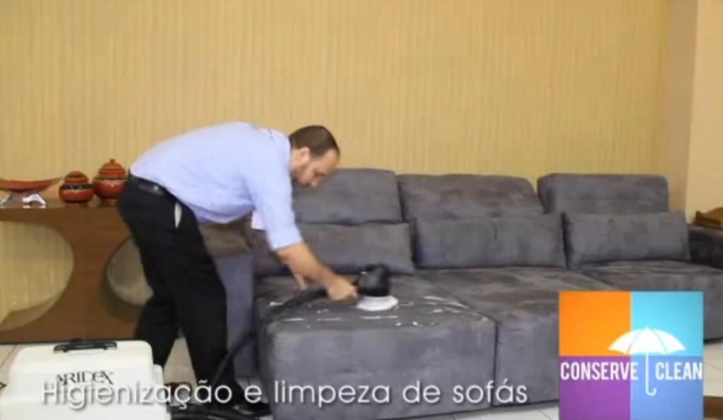 higienização sofás