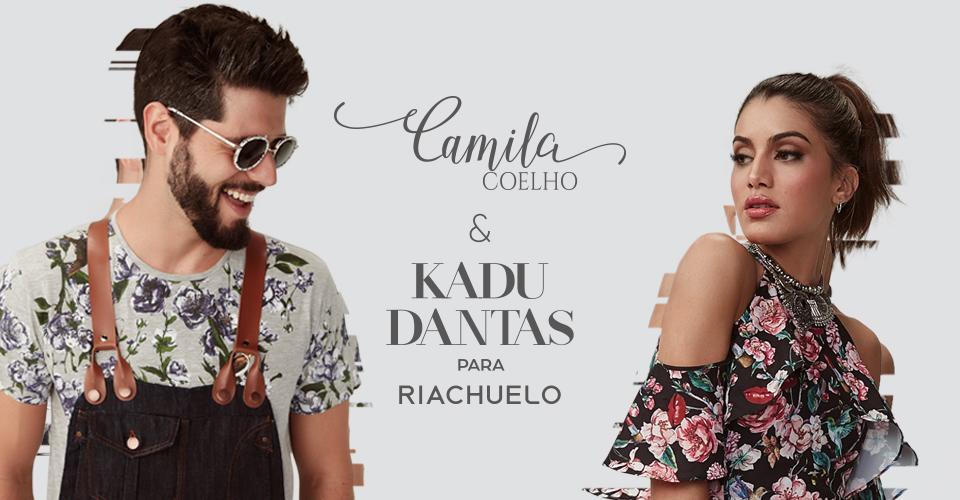 #KadumilaparaRiachuelo| Lançamento da coleção dos top bloggers Camila Coelho e Kadu Dantas para a fast fashion Riachuelo