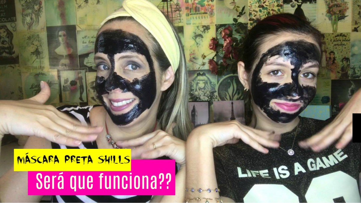 853ce0562a7b70 Resenha: Máscara preta Peel-off black mask Shills - Muito Diva